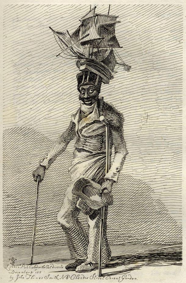 'effigy of Joseph Johnson'