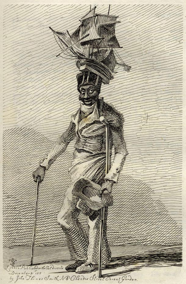 'effigy of Joseph Johnson'