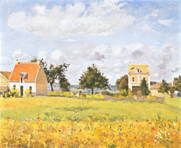 The Red House Camille Pissarro