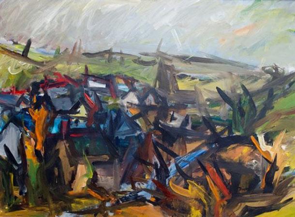 Deiniolen - Peter Prendergast - Painting of the Week 98