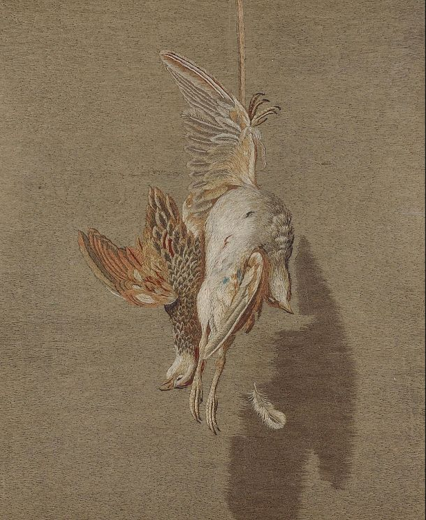 Mary Linwood - Hanging Partridge