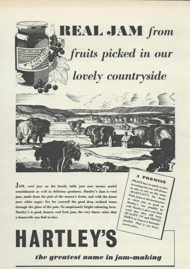 Hilder Rowland, Hartley's Jam Advert
