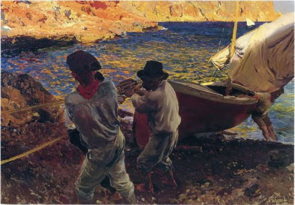 Joaquin Sorolla, End of the Day, Jávea
