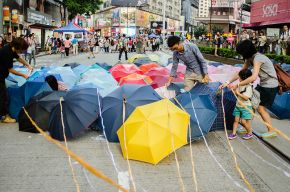 Xi Jinping and the Umbrella Revolution in Hong Kong