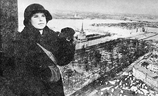 Defending Leningrad's Library