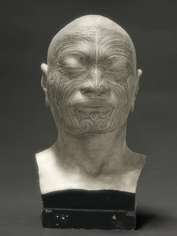 Fiona Pardington, Portrait of a life cast of Matua Tawai, Aotearoa/New-Zealand
