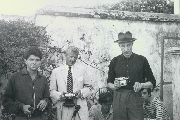 Paul Bowles and William Burroughs