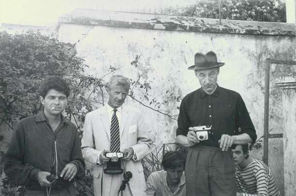 Paul Bowles and William Burroughs