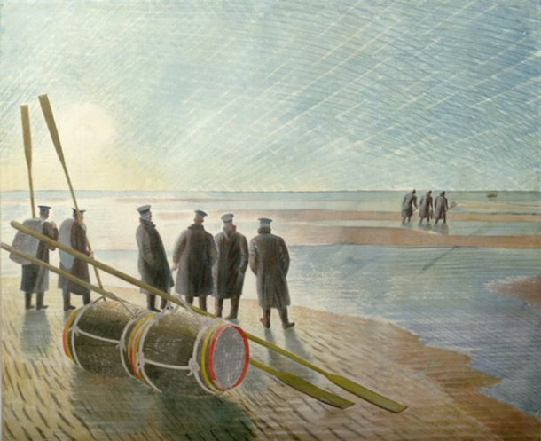Eric Ravilious, Dangerous Work at Low Tide