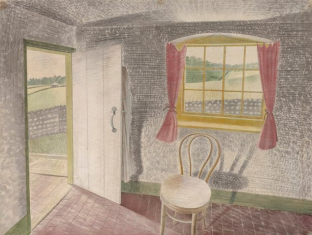 Eric Ravilious, Interior at Furlongs