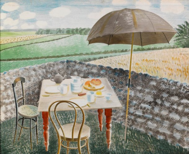 Eric Ravilious, Tea at Furlongs