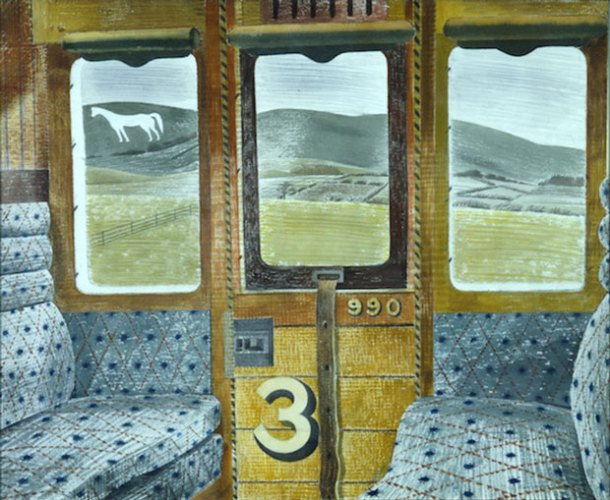Eric Ravilious, Train Landscape