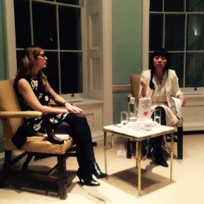 Jemimah Steinfeld in Conversation with Xiaolu Guo at Asia House