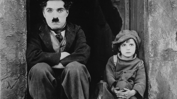 Charlie Chaplin, The Kid, Jackie Coogan, Family film, Cinema