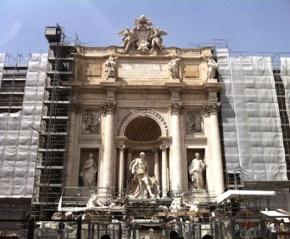 Strolling Through Rome: The TreviFountain