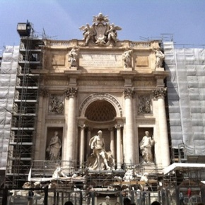 Strolling Through Rome: The Trevi Fountain