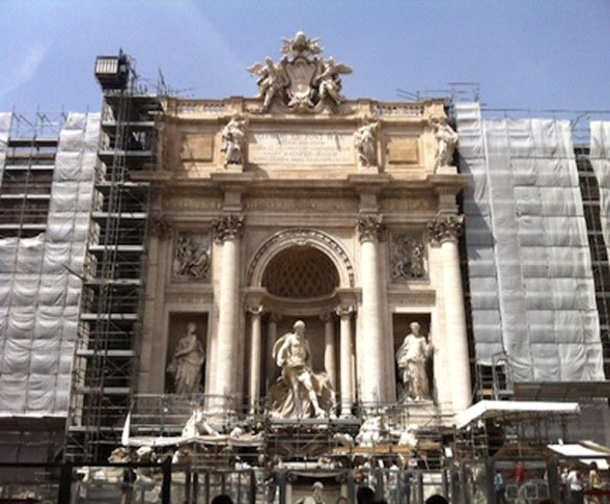 Rome, Travel, Trevi Fountain, Restoration