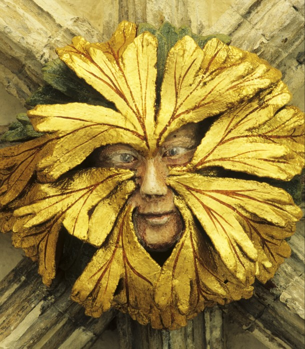 Green man, Medieval, Myths, The Land of the Green Man, Carolyne Larrington