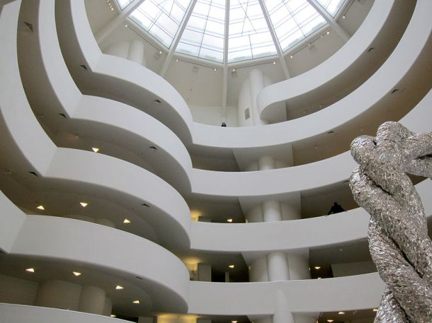 Guggenheim, Museum, Atrium, Matthew Barney, The Cremaster Cycle