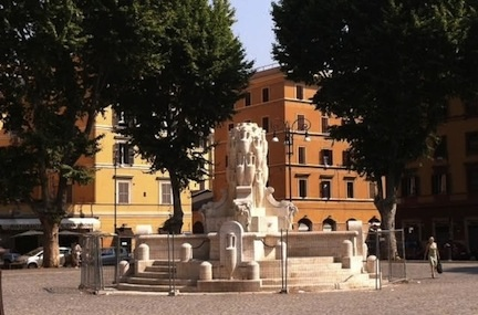 Fontana delle Anfore, Travel, Strolling through Rome, Rome, Italy, Fountain