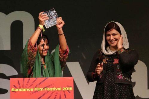 Rokhsareh-Ghaem-Maghami-and-Sonita-Alidazeh-at-Sundance