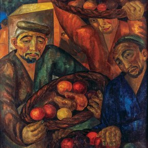 Painting of the Week – 'Fruit Sellers' (1928) by Alexander Volkov