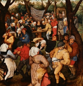 Painting of the Week: 'Wedding Dance in the Open Air' by Pieter Brueghel the Younger