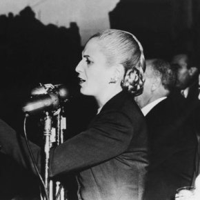 """An icon of beauty, fashion and activism"": Jill Hedges on Evita at 100"